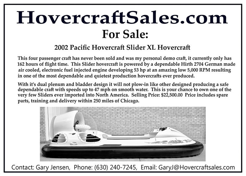 Hovercraft Ad