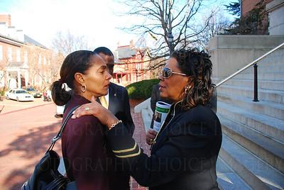 Mayor Shelia Dixon and Senator Joan Conway