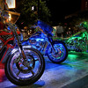 ROT Rally Bike Lights - 6th Street, Austin, Texas