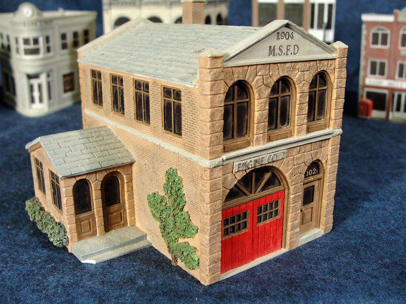 Close-up of Firehouse.