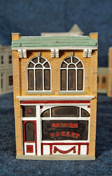 Close-up of Brothers Bakery.