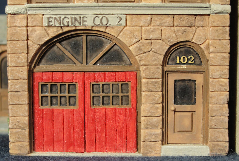 Detail of Firehouse.