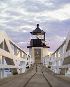 Marshall Point Light: Sunset