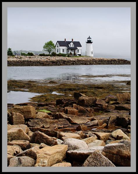 Prospect Harbor Lighthouse Panorama