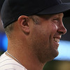 Minnesota Twins outfielder Michael Cuddyer (5) recovering from a wrist injury sat out the baseball game between the Chicago White Sox versus Minnesota Twins at Target Field in Minneapolis, MN. The Twins won the game 5-4.