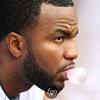 Minnesota Twins center fielder Denard Span (2) looks on from the dugout in the baseball game between the Minnesota Twins and the Tampa Bay Rays in Minneapolis, MN.  Tampa Bay won 15-3.