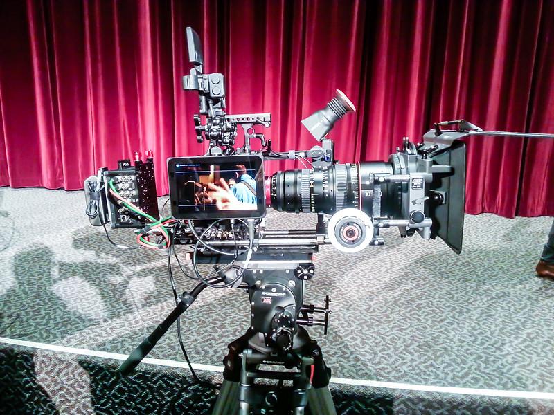 Bleeding edge cinematic technology on display.