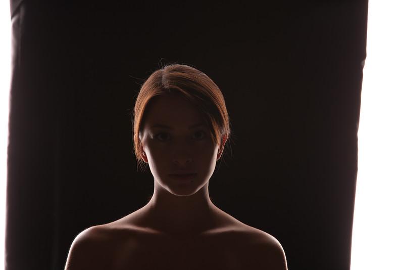 Beauty portrait (light modelling)