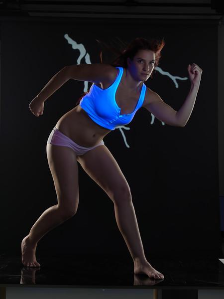 UV flash action