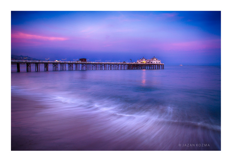A Dreamy Night  I -  Malibu Pier