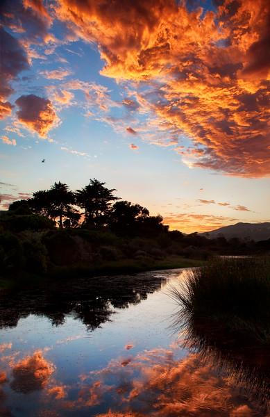 Malibu Lagoon Sunset