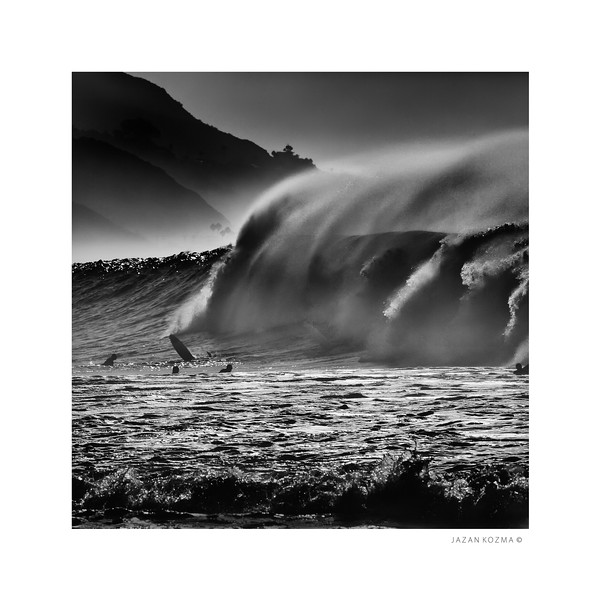 Malibu Surfrider Beach, Hurricane Marie, August 26th 2014 - Number 3 of Series - Limited Edition Print