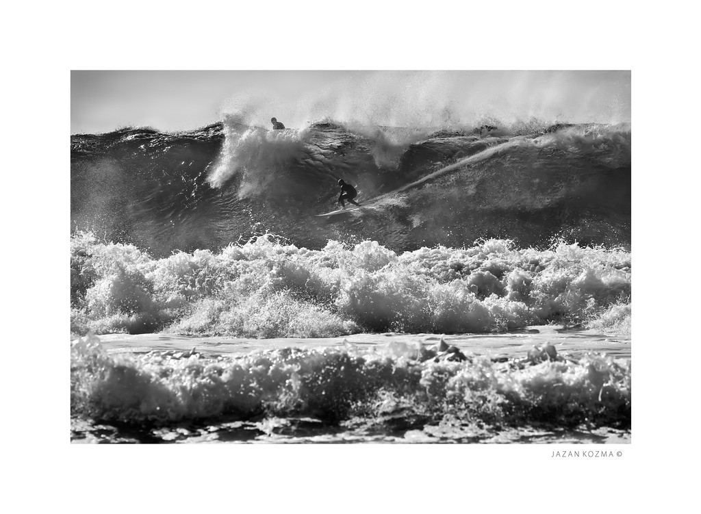 Big Wednesday - Malibu Surfrider Beach, Hurricane Marie 2014 - X