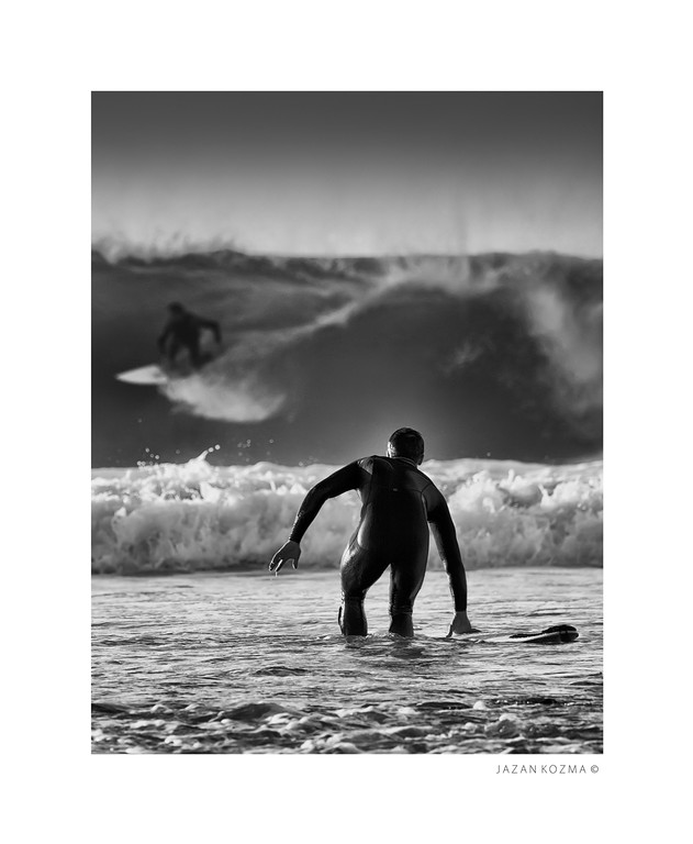 """Joe""  - Malibu Surfrider Beach; Hurricane Marie; August 26th 2014"
