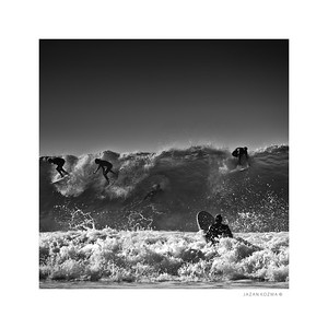 Malibu Surfrider Beach, Hurricane Marie, August 26th 2014 - Number 8 of Series - Limited Edition Print