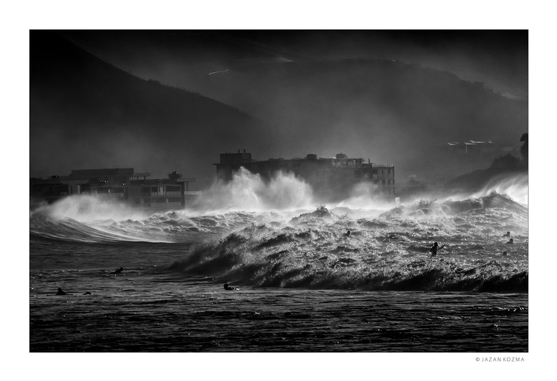 Malibu Surfrider Beach, Hurricane Marie 2014 - II