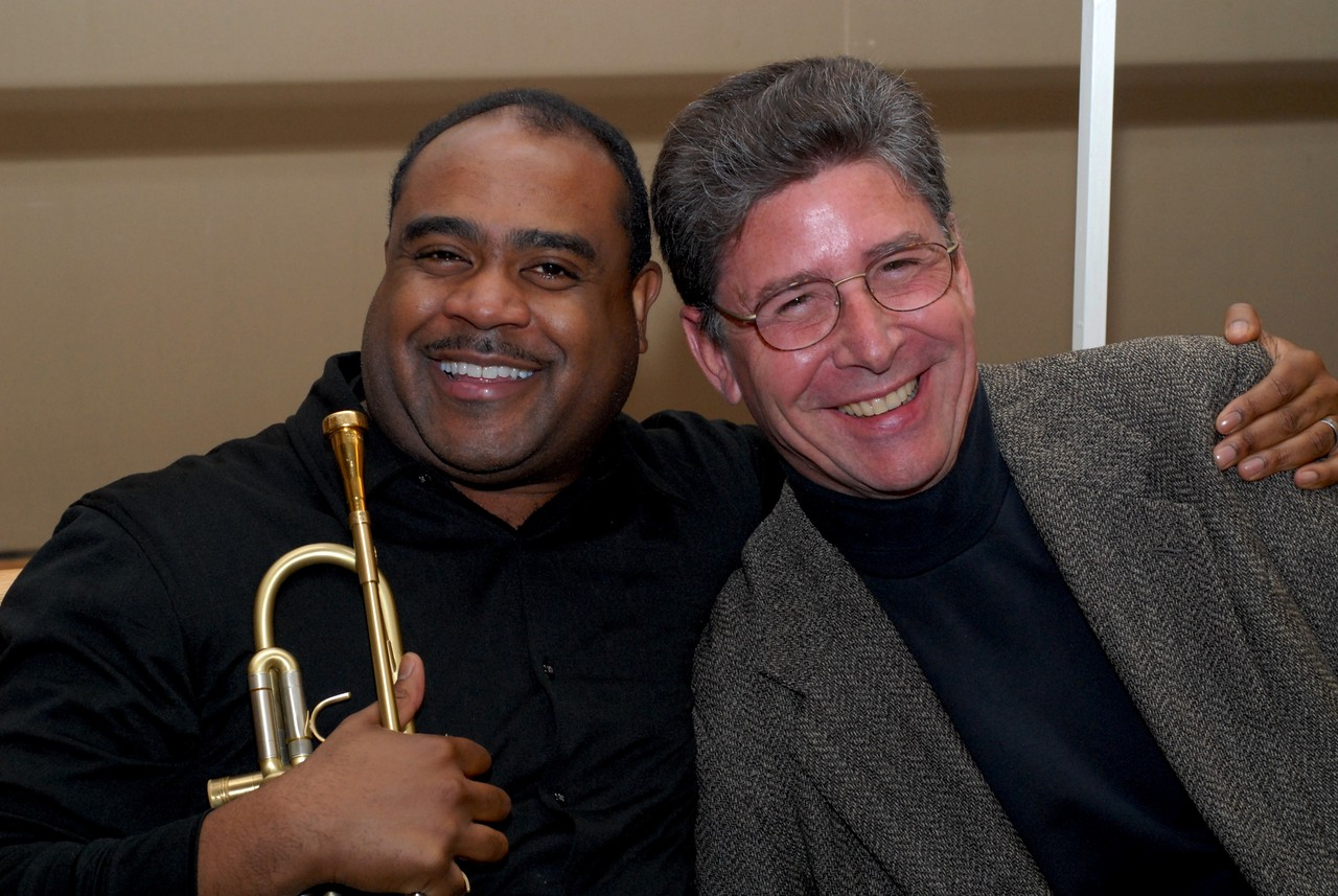 Jazz Trumpeter, Terell Stafford with Jazz Saxophonist, Fred Haas (Dartmouth College)
