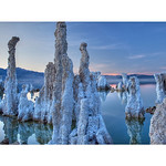 The Stand - Mono Lake, California. Mono Lake is one of the most ancient bodies of water in the world, dating back to the Pleistocene era. The tufa towers seen in this photo are relatively ne ...
