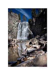 Rainbow Falls - Eastern Sierra