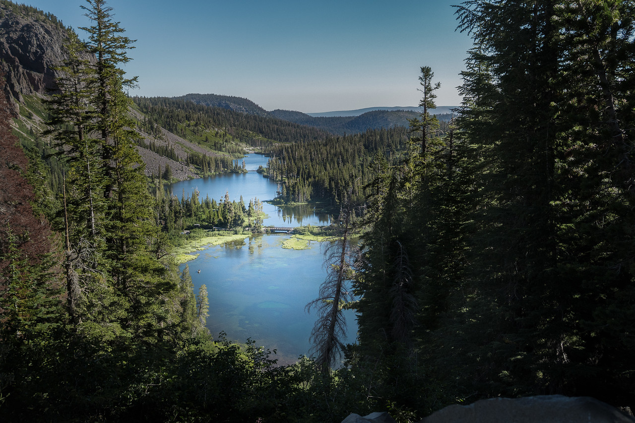 Twin Lakes as seen from Lake Mary Road in Mammoth Lakes