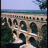 (Pont du Gard), Ancient Roman Aquaduct over the River Gard