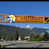 Entrance to the City of Valemount