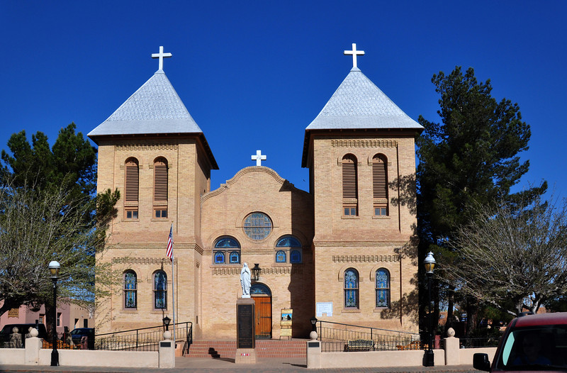The Church in Old Mesilla