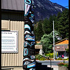 Totem Pole at Museum