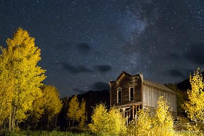 Ashcroft Hotel Under the Night Sky