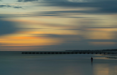 Long Exposure at Bradenton Beach