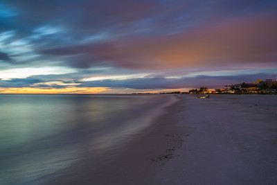Dusk at Bradenton Beach