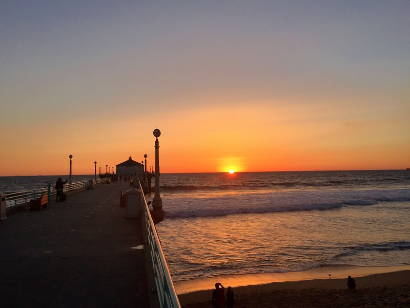 Manhattan Beach Photographer - sunset