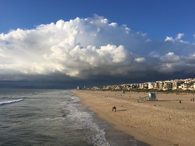 Manhattan Beach photographer -clouds