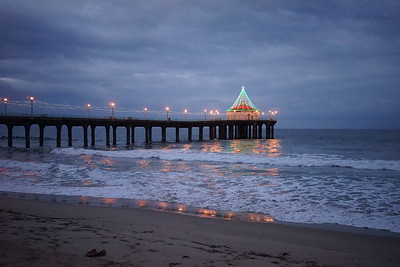 Manhattan Beach Photographer - holiday lights