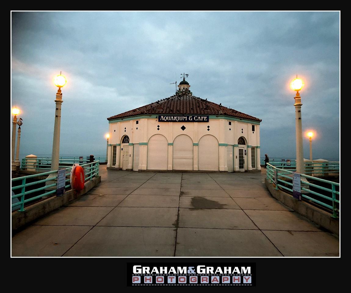 Manhattan Beach Pier, dawn