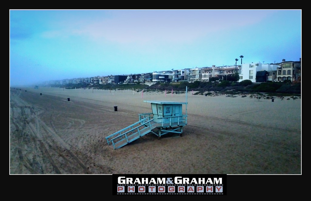 Manhattan Beach, looking towards El Segundo