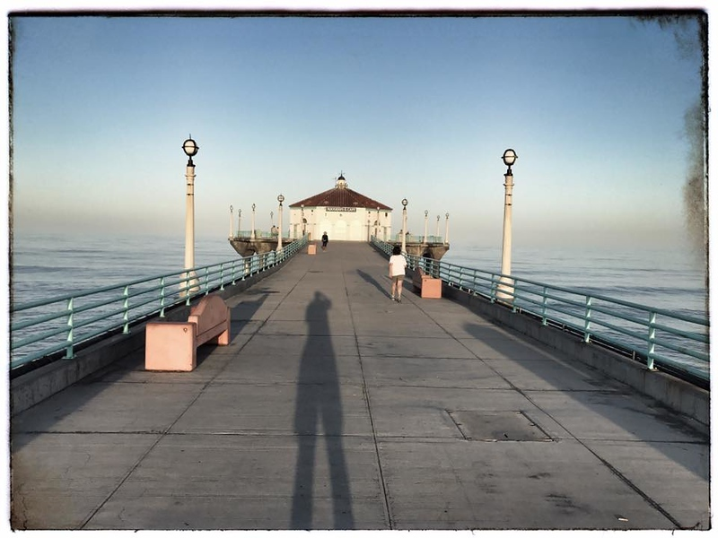 Manhattan Beach Photographer - my shadow