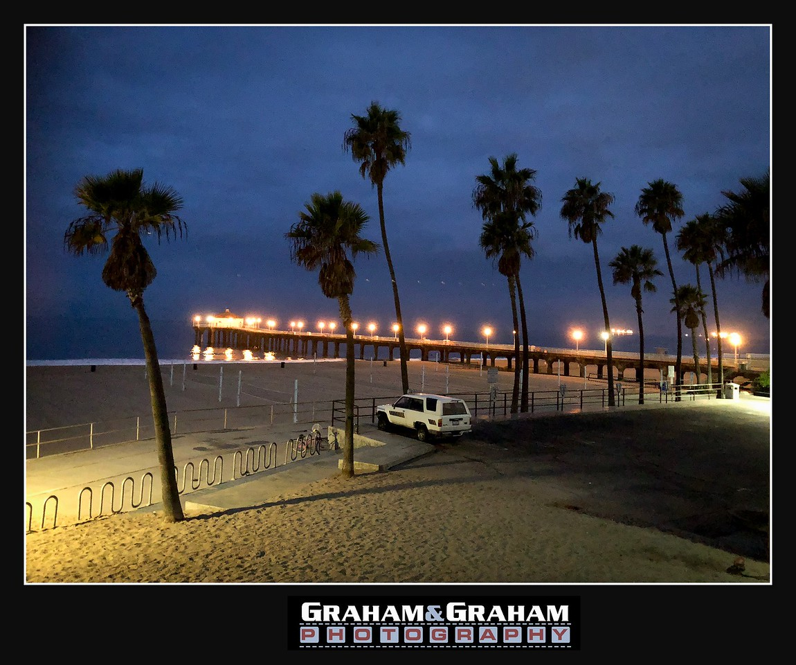 Early morning in Manhattan Beach