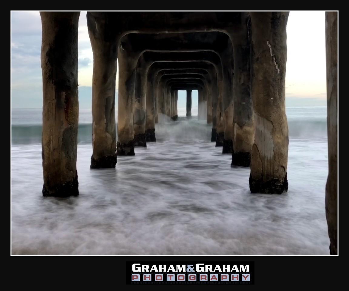 Under the Manhattan Beach Pier