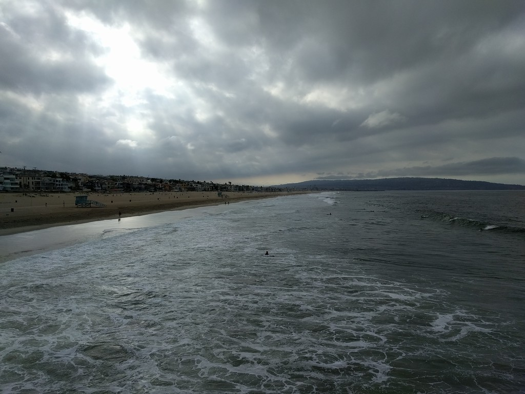 Manhattan Beach photographer - the sea