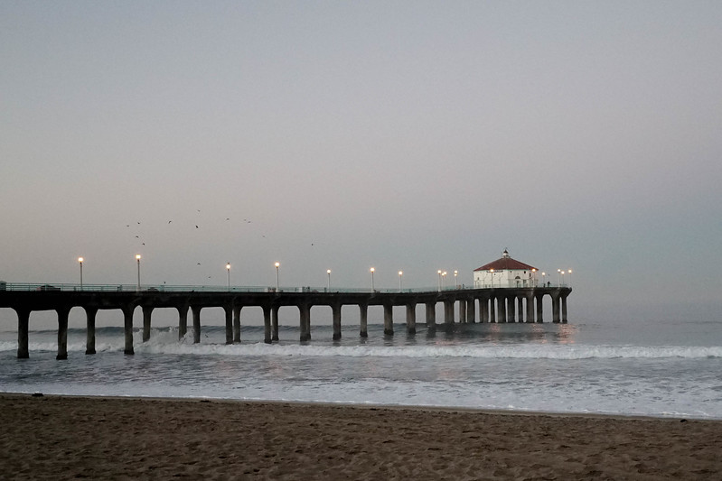 Manhattan Beach Pier @dusk