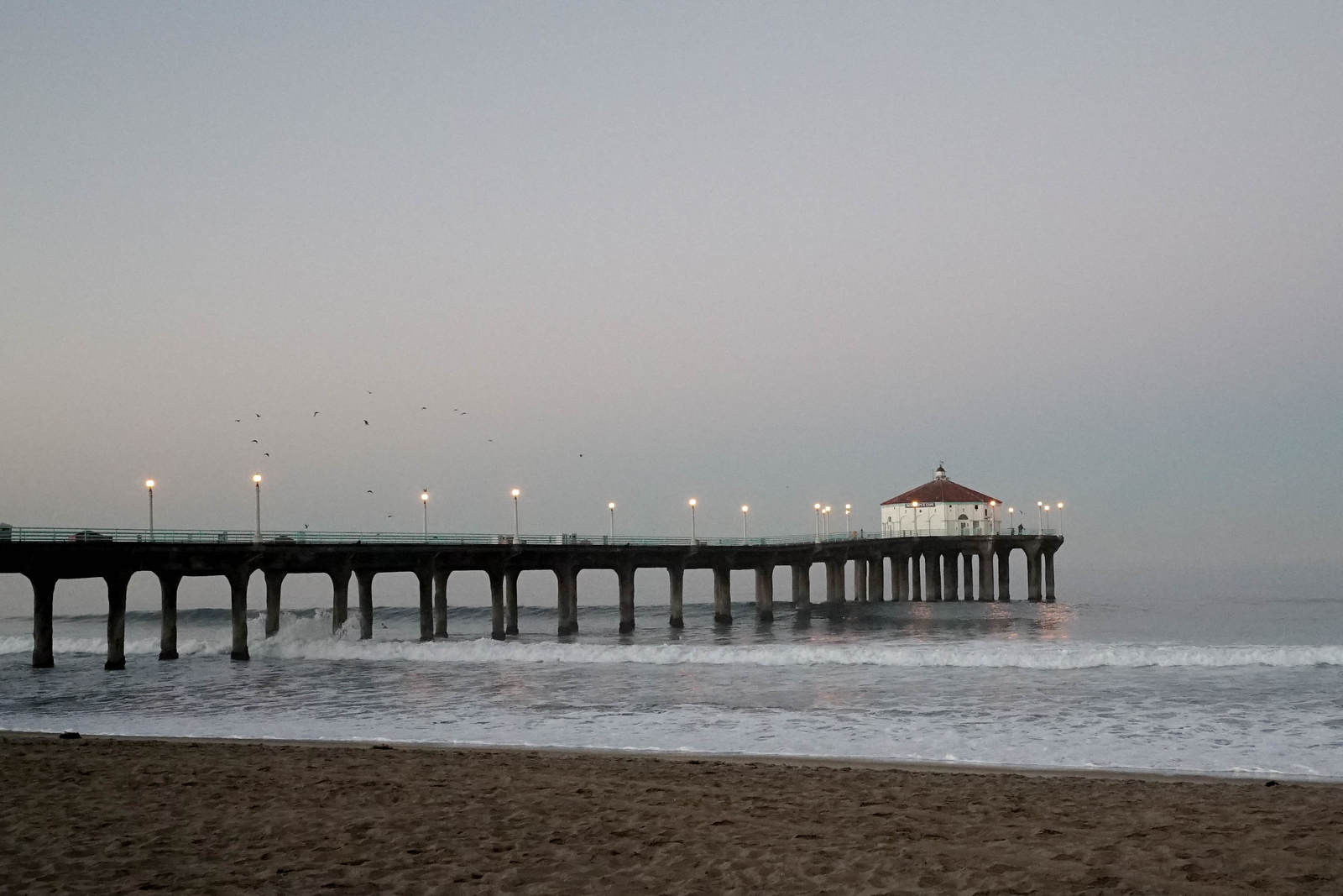 Manhattan Beach Pier @dusk