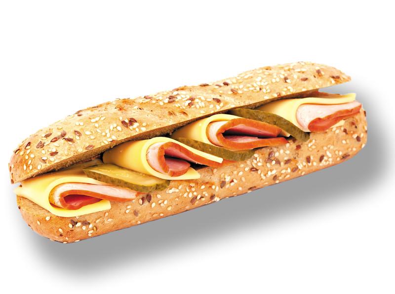 129899  MANTINGA prantsuse võileib singi ja juustuga 225g