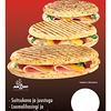 129399, MANTINGA Panini suitsukana ja juustuga 235g TASKUGA