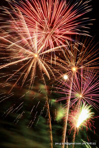 Maricopa, AZ Fireworks - 2009
