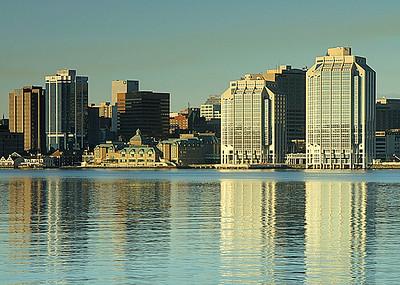 27 Purdy's Wharf Sunrise, Halifax, Nova Scotia