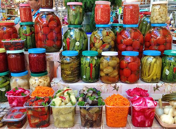 Bessarabskiy market, Kyiv, Ukraine