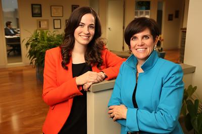 Lisa Kirchenbauer and Christine Damico 11-9-15