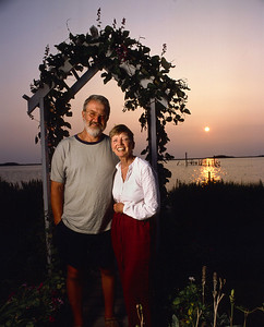 Rob and Linda Kellogg at the Inn of Silent Music