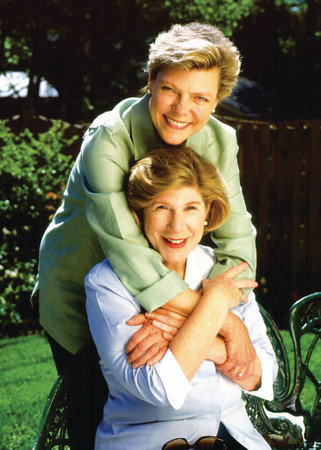 Cokie Roberts and Nina Totenberg
